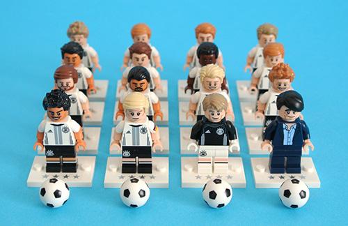 Germania Lego giocatori mondiale