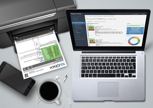 Nuova funzione sulla nostra web app: scegli come stampare i tuoi allenamenti