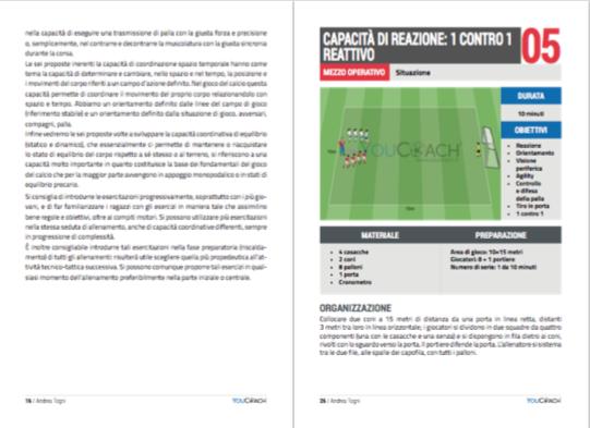 Capacità coordinative nella scuola calcio