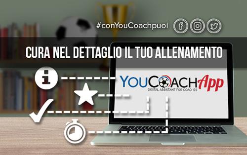 Le 5 funzioni da conoscere quando prepari l'allenamento con YouCoachApp