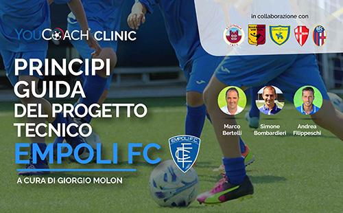 Principi guida del progetto tecnico Empoli FC