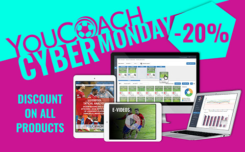 YouCoach Cyber Monday Discounts on all our products