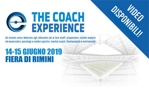 I video della Coach Experience sono online!