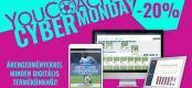 YouCoach Cyber Monday ... Az ajánlatok CSAK MA!
